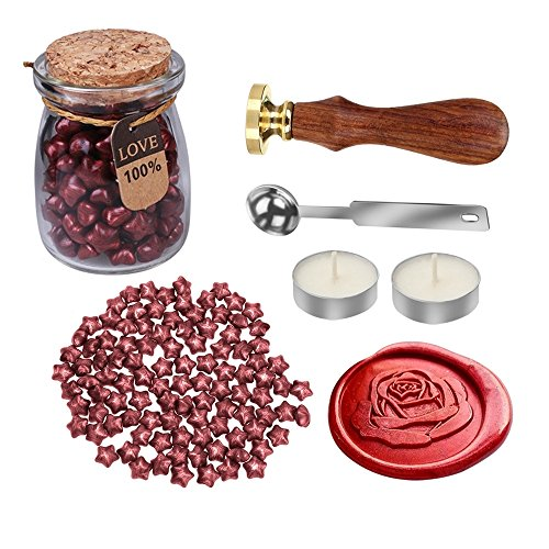 MyLifeUNIT-Rose-Wax-Seal-Stamp-Kit-for-Wedding-Retro-Envelop-Wax-Sealing-Set
