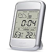Monitor de humedad interior,higrómetro digital Monitor de termómetro