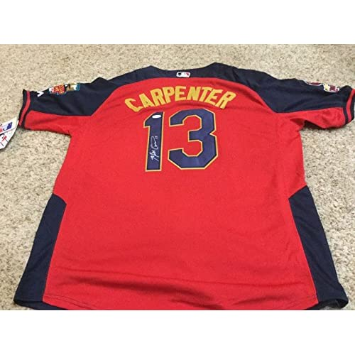 new concept 266c6 2c611 Matt Carpenter Autographed Jersey - All Star COA - JSA ...