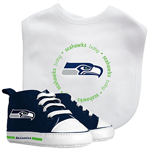 Seattle Seahawks Baby Infant Shoe