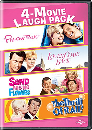 Pillow Talk / Lover Come Back / Send Me No Flowers / The Thrill of It All 4-Movie Laugh Pack (Discount Pillows)