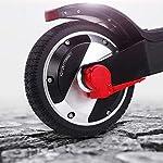 HAOYF-Pieghevole-Monopattino-Elettrico-Carico-Massimo-120-kg-Motore-Ad-Alta-Potenza-250-W-con-Pneumatici-in-Gomma-Piena-da-65-Pollici-E-Scooter-Portatile-per-Adulti-E-Adolescenti