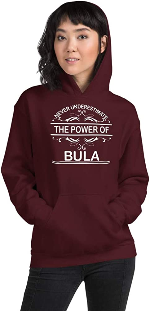 Never Underestimate The Power of BULA PF Maroon