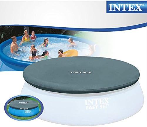 Lona redonda para piscina autoestable Intex de 366 cm: Amazon.es ...
