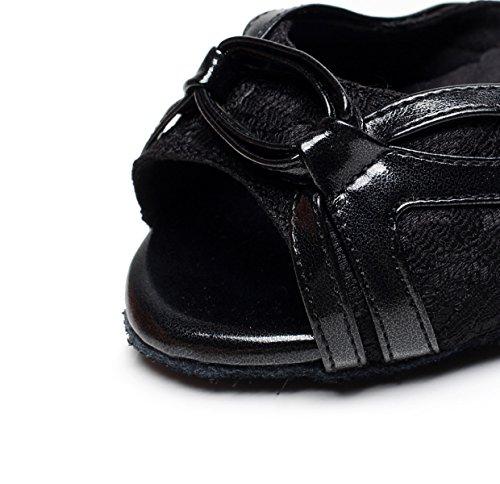 Samba Thé Tango Femme EU40 Pour Black JSHOE Chaussures Talons Chaussures Our41 UK6 5cm 5 heeled7 Salsa Latin Moderne Hauts Jazz Sandales Danse De wzx0x4q8