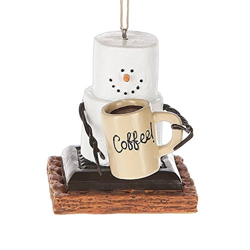 S'Mores Coffee Lover Christmas/ Everyday (Smore Ornament)