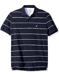 Men's Stripe Deck Anchor Polo