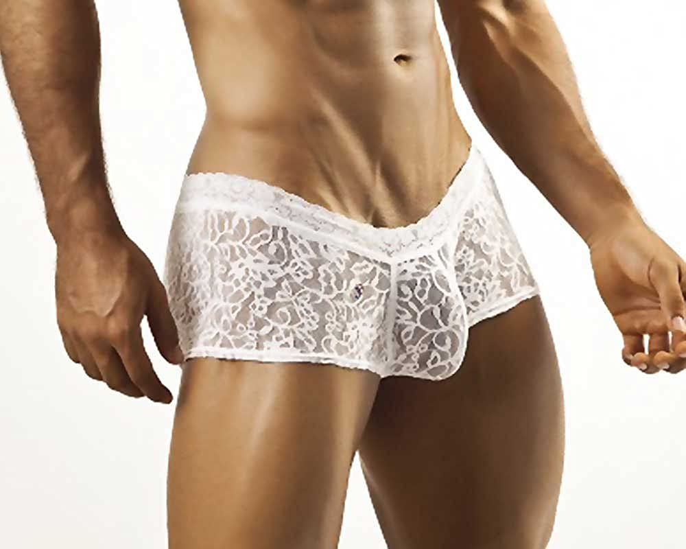 JOE SNYDER Expression Boxer White Lace