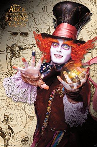 Johnny Depp Mad Hatter - Trends International Alice in Wonderland 2