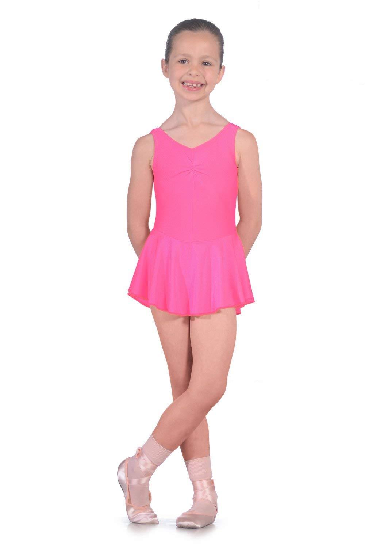 Roch Valley ISTDJ - Maillot de licra con falda Shocking pink Talla ...