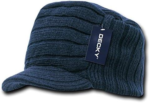 Flat Top Cap w// Visor Cap-Grey