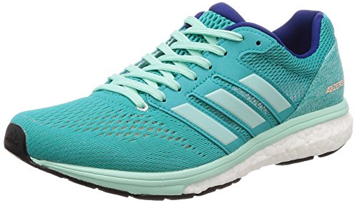 adidas Adizero Boston 7 W, Chaussures de Running Femme Blu (Hi-res Aqua F18/Clear Mint F18/Mystery Ink F17)