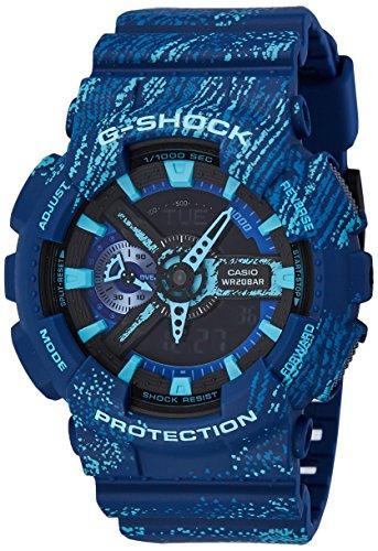 (Casio Mens Casio G-Shock Analog-Digital Sport Quartz GA-110TX-2A)