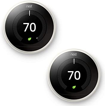 Nest Learning Thermostat 3rd Generation, White