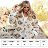 Tirrinia Black Sherpa Hooded Jacket Coat for