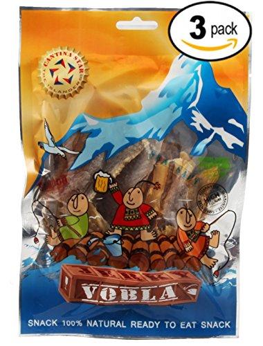 Cantina StarVobla Fish Jerky (Dried Fish), 90g, Pack of 3