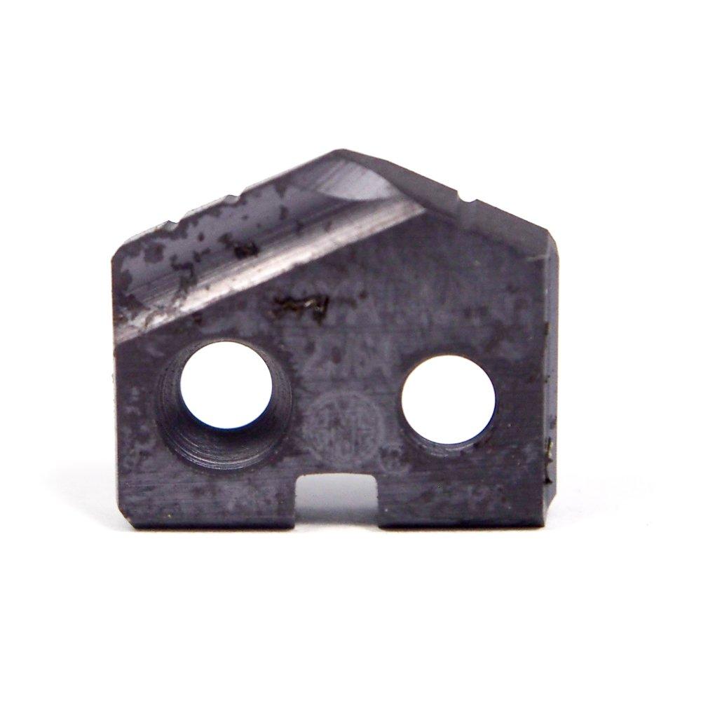 AMEC Cobalt Spade Drill Insert 27/64'' 0.421'' Series #Y T-A TiAlN 18YA-.421 (2 Pcs)