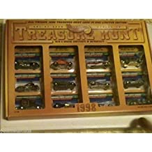 Hot Wheels - Treasure Hunt 1998 - Limited Edition (1 of only 5000) - Series IV Anniversary Set. Includes all 12 Hot Wheels Treasure Hunt vehicles from 1998 in a special design Hot Wheels Treasure Hunt 1998 graphical display carrying case/box