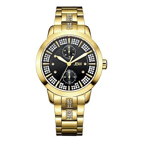 JBW Women's Lumen J6341D Gold Multi-Function Diamond Watch