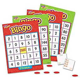 Bingo Game, Multiplication and Division, Sold as 1 Each