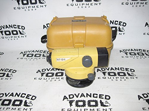 Topcon AT-B4 24x Autolevel Automatic Auto Level Transit w/ Carrying Case