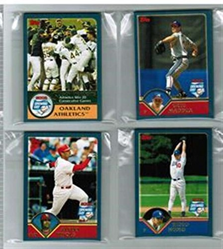 2003 Topps Opening Day Chicago Cubs Team Set 5 Cards MINT