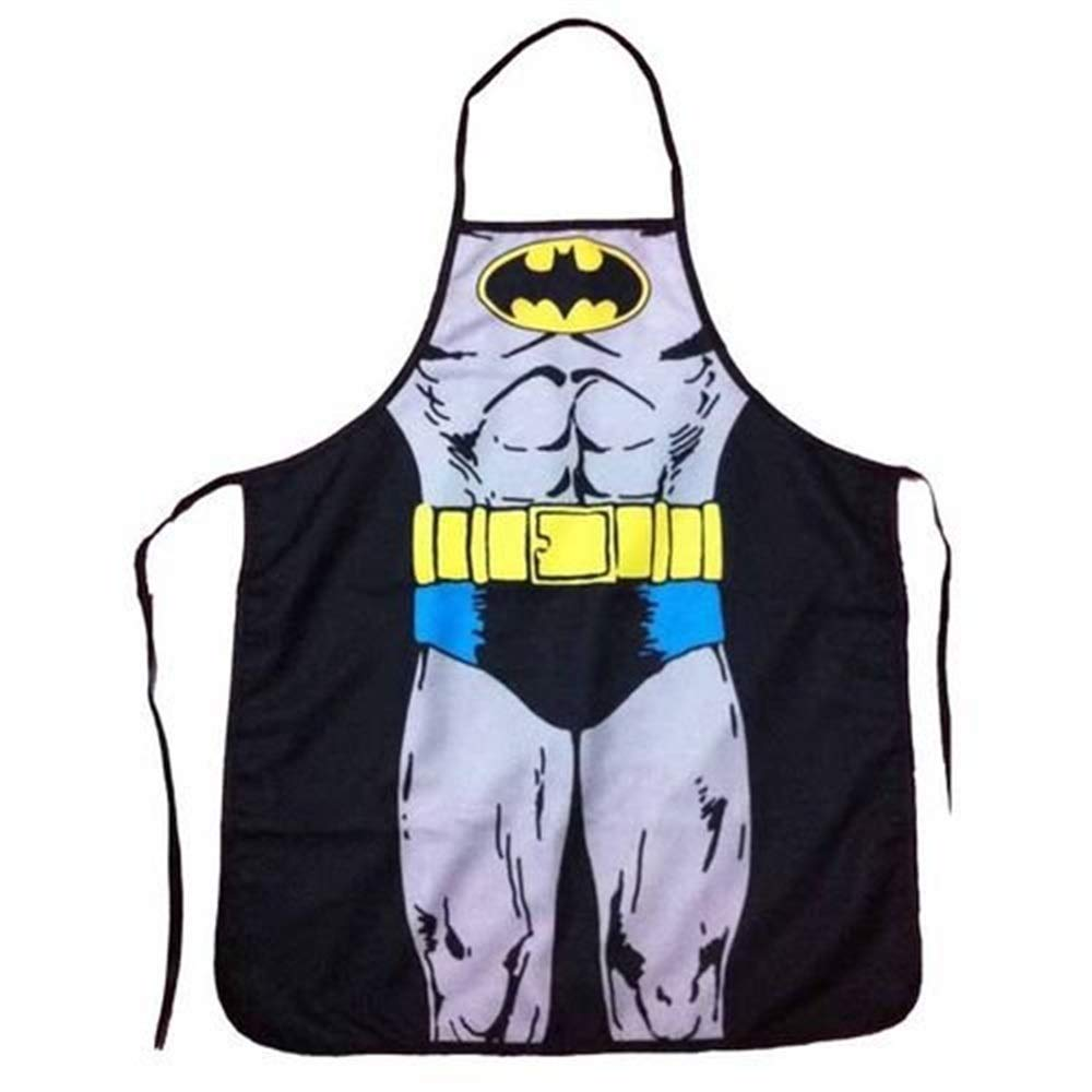 Redyiger Useful Items Superhero Marvel DC Comic Apron Funny personality Apron Kitchen BBQ
