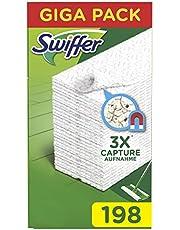 Swiffer kvastduk påfyllningar för att fånga och fånga 3 gånger mer damm, smuts och hår än en traditionell kvast