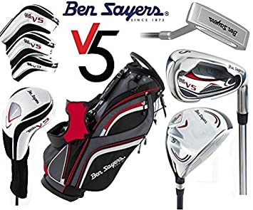 Juego completo de palos de golf Ben Sayers V5 de grafito ...