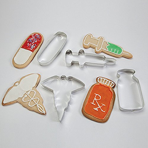 HCL Medical Cookie Cutter Set Set of 4