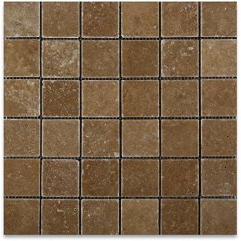 Emperdaor 2x2 Polished Mosaic Tiles On 12x12 Sheet For Backsplash