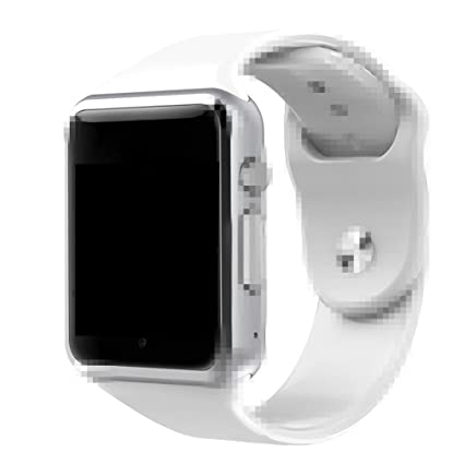 A1 Smart Watch With Passometer Camera SIM Card Call Smartwatch For Xiaomi Huawei Android Phone Better Than GT08 DZ09 (White)