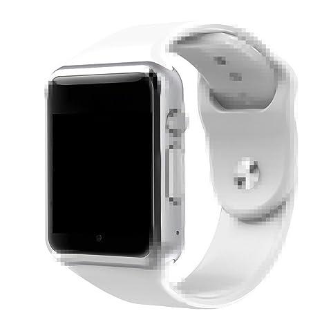 Amazon.com: A1 reloj inteligente con pasómetro cámara ...