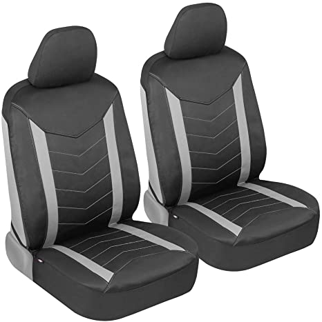 Grey | Heavy Duty S- tech automotive Megane Coupe 96-03 Water Resistant Front Seat Covers//Protectors 1+1