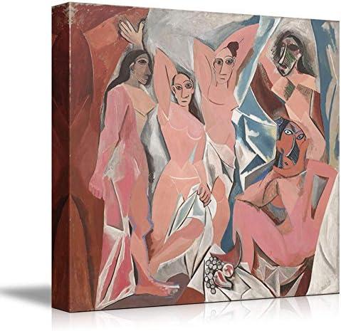 Les Demoiselles d'Avignon (The Young Ladies of Avignon) by Picasso