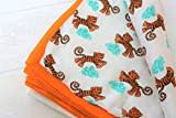 Cheap TURA TURI Muslin Cotton Stroller blanket by 100% cotton, Receiving Blanket, Tiger Dreams