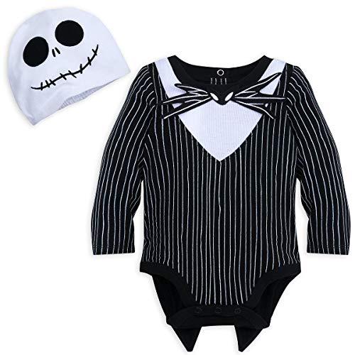 Disney Jack Skellington Costume Bodysuit for Baby - Size 12-18 MOS -