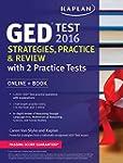 Kaplan GED Test 2016 Strategies, Prac...