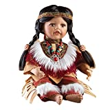 Women's Halona Native American Porcelain Collectible Doll