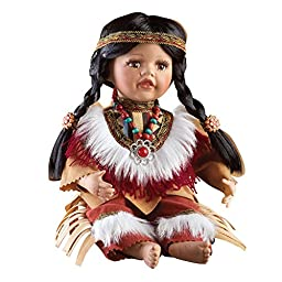 Women\'s Halona Native American Porcelain Collectible Doll, Multi