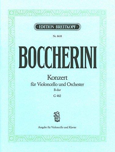 (Boccherini: Cello Concerto in B-flat Major, G. 482 )