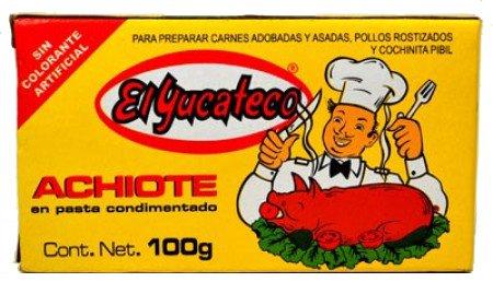 El Yucateco Paste Achiote, 3.5 oz