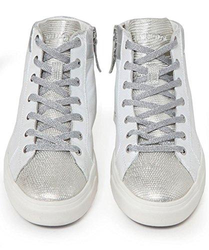 Bianco Bianca Crime Donna 25020 Sneaker Perlato Mainapps London UYzHqYT