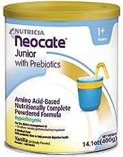 Neocate Junior with Prebiotics, Vanilla, 14.1 oz / 400 g (1 can)