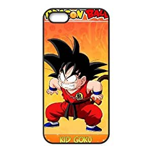 Generic hard plastic DRAGON BALL Anime Cell Phone Case for iPhone SE 5 5S Black B1104