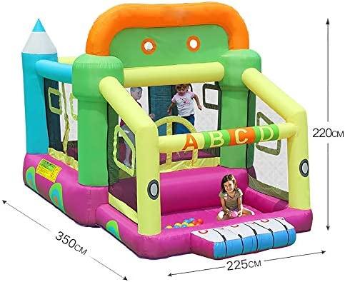 Casa de juegos castillo inflable Inflable castillo de la ...