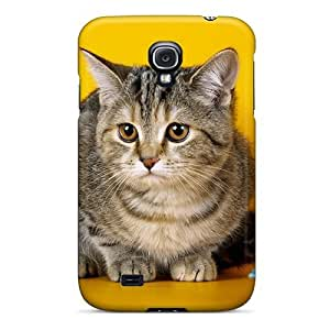 New Cute Funny Cat Balls Thread Case Cover/ Galaxy S4 Case Cover