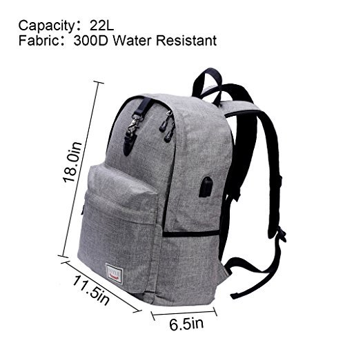 Laptop Backpack-Beyle Anti-theft Water Resistant Travel lapt