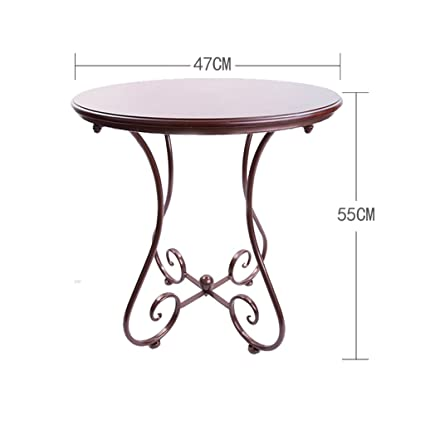 Amazon Com Pm Tables Simple Casual Small Round Table European
