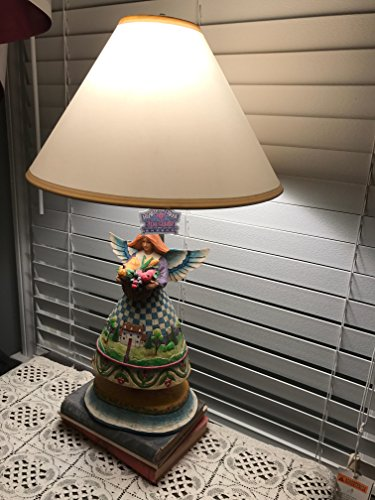Jim Shore Heartwood Creek Bountiful Angel Table Lamp